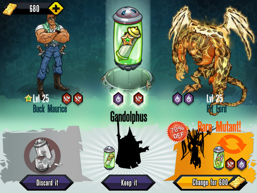 mutant genetic gladiators mod apk unlimited money